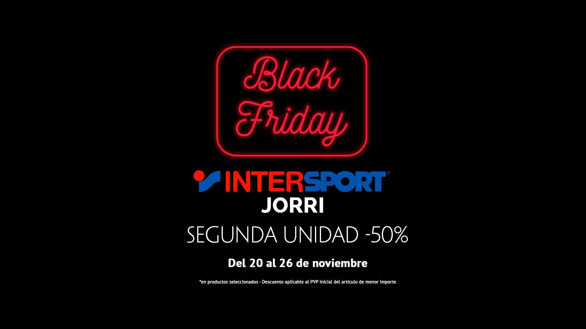ad22cd8a12 Black Friday 2017 - Intersport Jorri Jaca