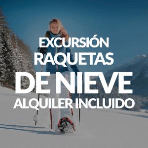 Excursión con raquetas de nieve + Alquiler
